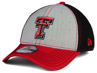 Texas Tech Red Raiders New Era NCAA Heathered Neo 39THIRTY Cap