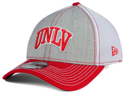 UNLV Runnin Rebels New Era NCAA Heathered Neo 39THIRTY Cap