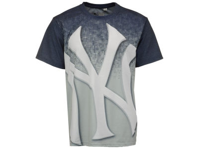 New York Yankees MLB Men's Big Logo Sublimated T-Shirt