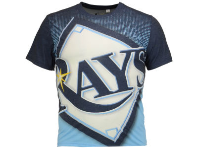 Tampa Bay Rays MLB Men's Big Logo Sublimated T-Shirt