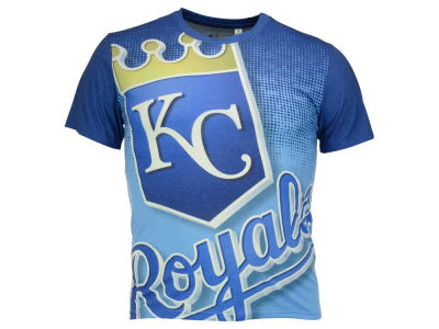 Kansas City Royals MLB Men's Big Logo Sublimated T-Shirt