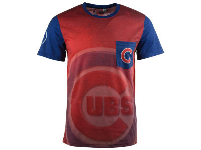 Chicago Cubs MLB Men's Pocket Sublimated T-Shirt