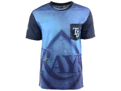 Tampa Bay Rays MLB Men's Pocket Sublimated T-Shirt
