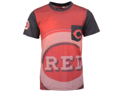 Cincinnati Reds MLB Men's Pocket Sublimated T-Shirt