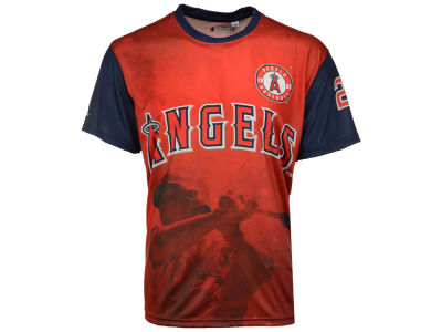 Los Angeles Angels Mike Trout MLB Men's Player Sublimated T-Shirt