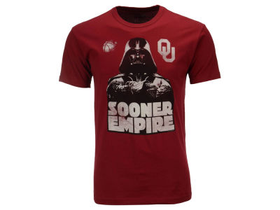 Oklahoma Sooners Star Wars NCAA Men's Darth Vader Empire T-Shirt