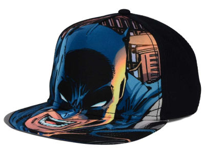 Batman DC Comics Youth Face Snapback Hat
