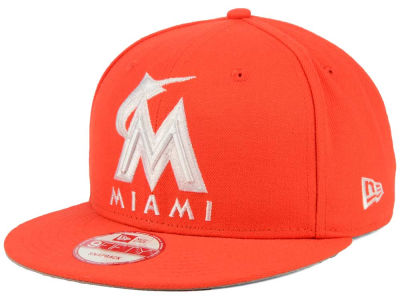 Miami Marlins New Era MLB C-Dub 9FIFTY Snapback Cap