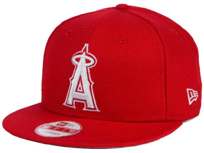 Los Angeles Angels New Era MLB C-Dub 9FIFTY Snapback Cap
