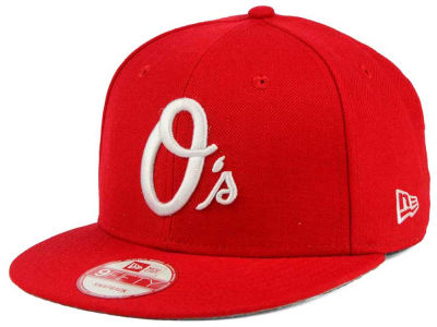 Baltimore Orioles New Era MLB C-Dub 9FIFTY Snapback Cap