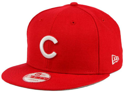 Chicago Cubs New Era MLB C-Dub 9FIFTY Snapback Cap