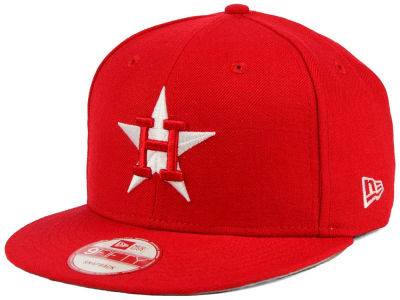 Houston Astros New Era MLB C-Dub 9FIFTY Snapback Cap