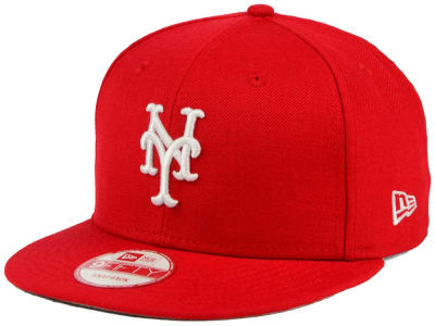 New York Mets New Era MLB C-Dub 9FIFTY Snapback Cap