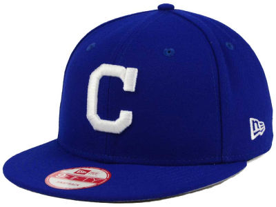 Cleveland Indians New Era MLB C-Dub 9FIFTY Snapback Cap