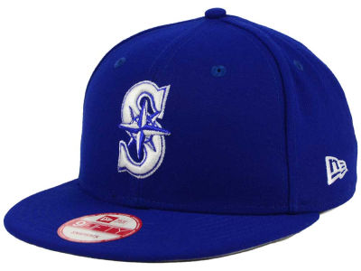 Seattle Mariners New Era MLB C-Dub 9FIFTY Snapback Cap