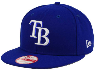Tampa Bay Rays New Era MLB C-Dub 9FIFTY Snapback Cap