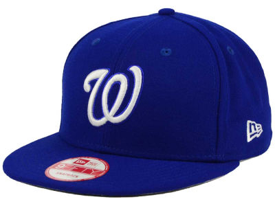 Washington Nationals New Era MLB C-Dub 9FIFTY Snapback Cap