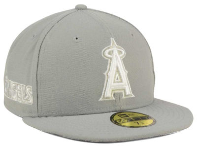 Los Angeles Angels New Era MLB C-Dub Patch 59FIFTY Cap