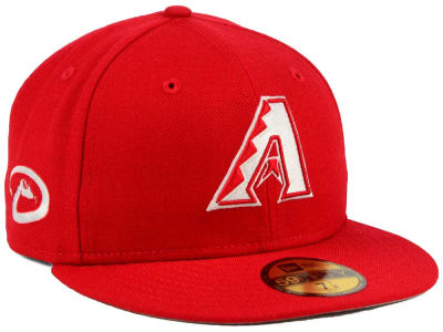 Arizona Diamondbacks New Era MLB C-Dub Patch 59FIFTY Cap