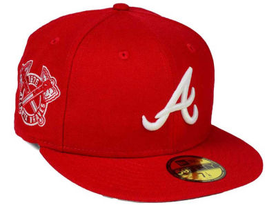 Atlanta Braves New Era MLB C-Dub Patch 59FIFTY Cap