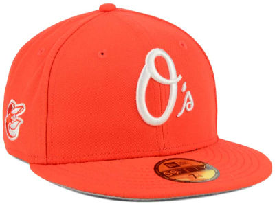 Baltimore Orioles New Era MLB C-Dub Patch 59FIFTY Cap