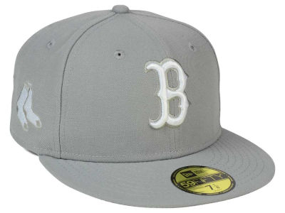 Boston Red Sox New Era MLB C-Dub Patch 59FIFTY Cap