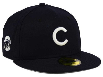 Chicago Cubs New Era MLB C-Dub Patch 59FIFTY Cap