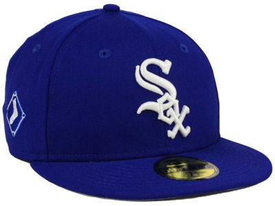 Chicago White Sox New Era MLB C-Dub Patch 59FIFTY Cap