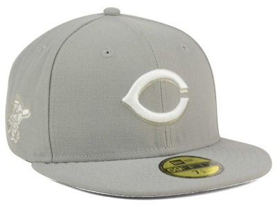 Cincinnati Reds New Era MLB C-Dub Patch 59FIFTY Cap