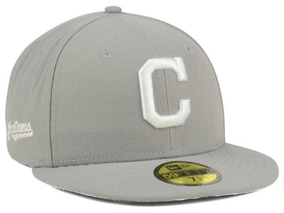 Cleveland Indians New Era MLB C-Dub Patch 59FIFTY Cap