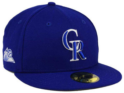 Colorado Rockies New Era MLB C-Dub Patch 59FIFTY Cap