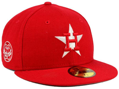 Houston Astros New Era MLB C-Dub Patch 59FIFTY Cap