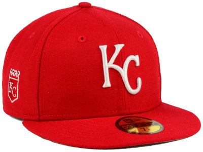 Kansas City Royals New Era MLB C-Dub Patch 59FIFTY Cap