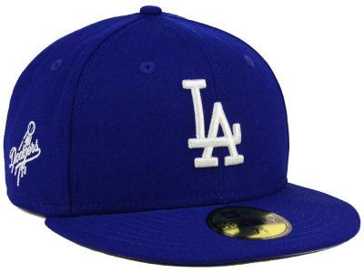 sports shoes 2e93f 24255 Los Angeles Dodgers New Era MLB C-Dub Patch 59FIFTY Cap