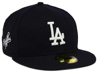 Los Angeles Dodgers New Era MLB C-Dub Patch 59FIFTY Cap