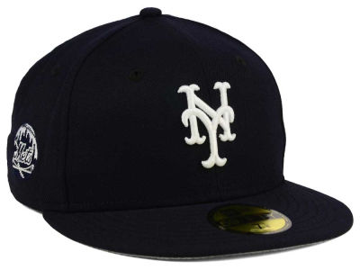 New York Mets New Era MLB C-Dub Patch 59FIFTY Cap