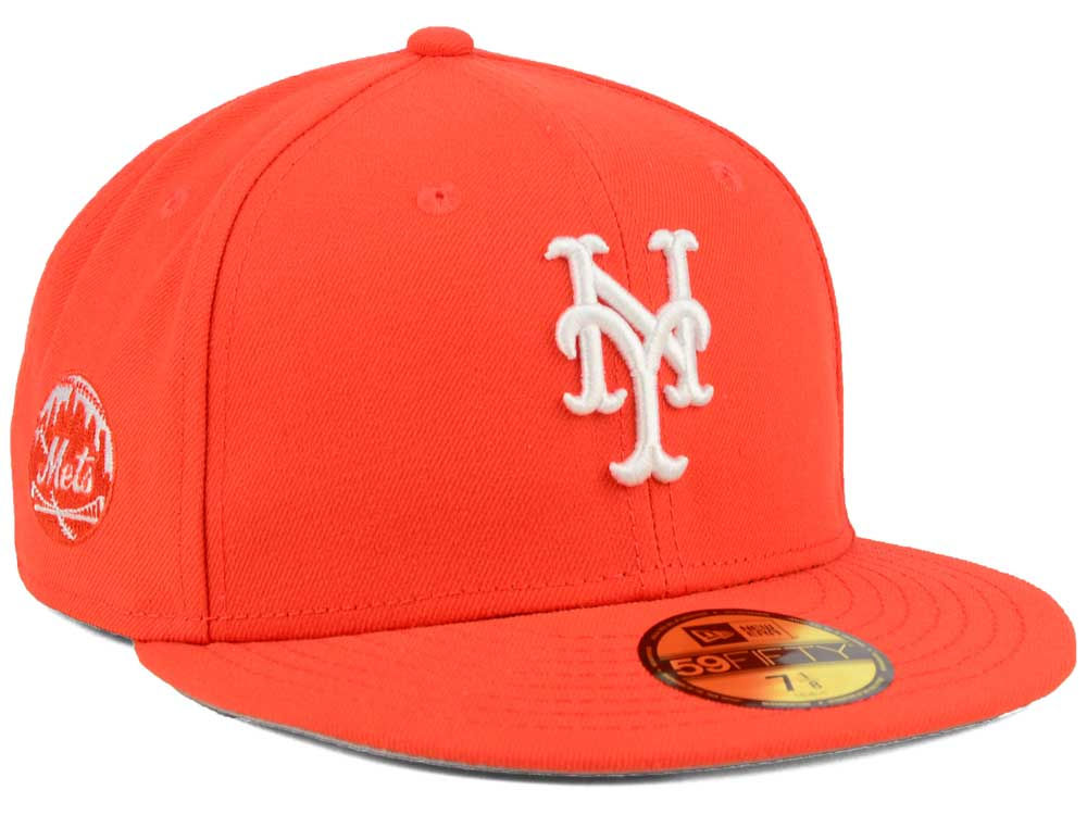 premium selection d08d8 d5375 New York Mets New Era MLB C-Dub Patch 59FIFTY Cap   lids.com