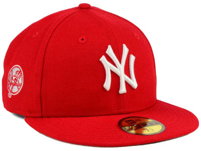 NY Yankees Cap Red