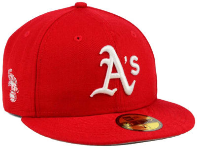 Oakland Athletics New Era MLB C-Dub Patch 59FIFTY Cap
