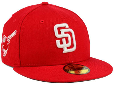 San Diego Padres New Era MLB C-Dub Patch 59FIFTY Cap