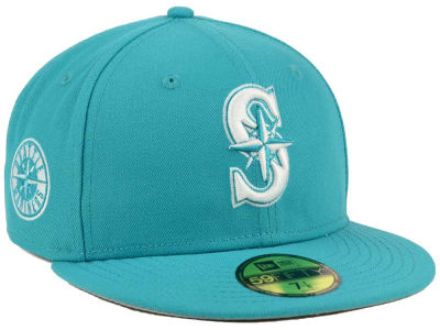 Seattle Mariners New Era MLB C-Dub Patch 59FIFTY Cap
