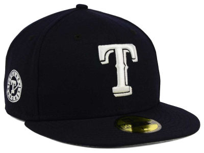 Texas Rangers New Era MLB C-Dub Patch 59FIFTY Cap