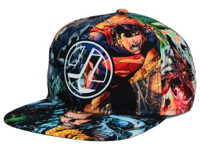 Justice League DC Comics Youth Good vs Evil Snapback Hat