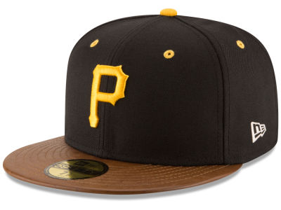 Pittsburgh Pirates New Era MLB Leather Banner Patch 59FIFTY Cap