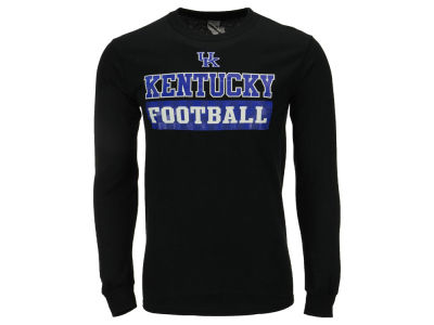 Kentucky Wildcats NCAA Men's Checkerboard Long Sleeve T-Shirt
