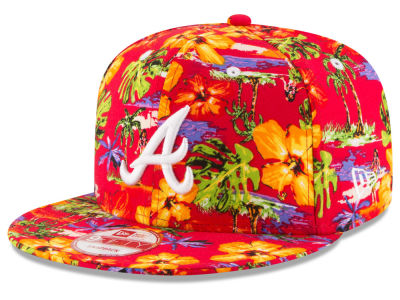 Atlanta Braves New Era MLB Spring Time 9FIFTY Snapback Cap