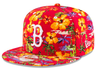 Boston Red Sox New Era MLB Spring Time 9FIFTY Snapback Cap