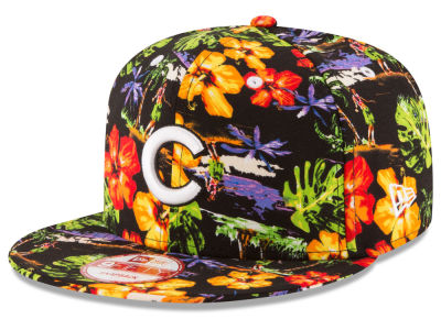 Chicago Cubs New Era MLB Spring Time 9FIFTY Snapback Cap