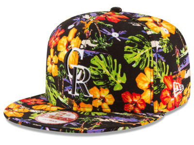 Colorado Rockies New Era MLB Spring Time 9FIFTY Snapback Cap