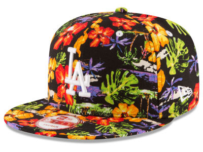 Los Angeles Dodgers New Era MLB Spring Time 9FIFTY Snapback Cap